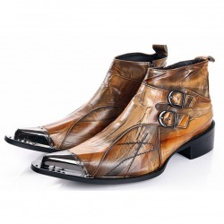 ROCKY-BR Men Gothic Boots
