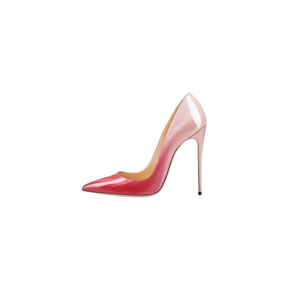 c845d9726df2 iHeels ELLIE-120P Stiletto Heel Pumps Fading Pink. Loading zoom