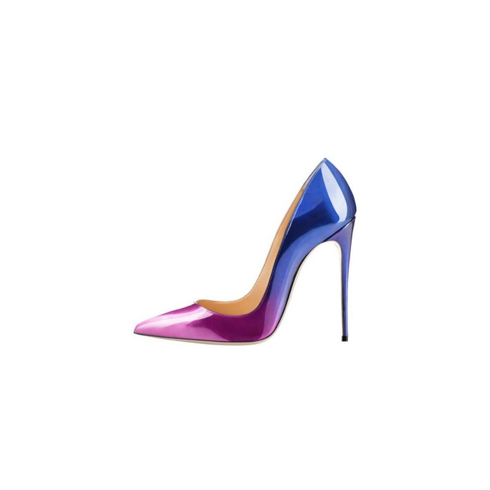 Ellie Fading Purple Heels | Cheap Heels