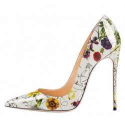iHeels ELLIE Party Heels Multicolored Daisy