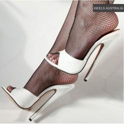 DOMINA-2909 Fetish 18cm Heel Slides