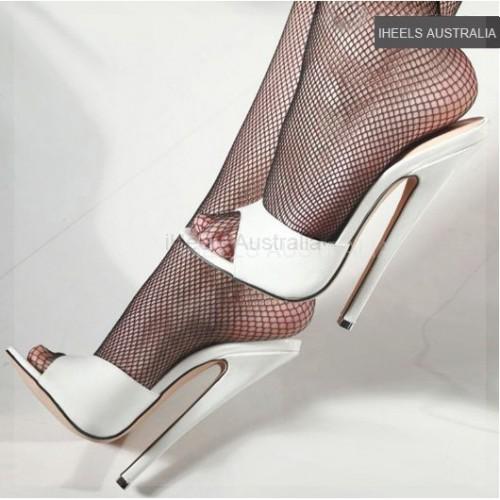 Fetish 7 inch 18cm Heel Slides