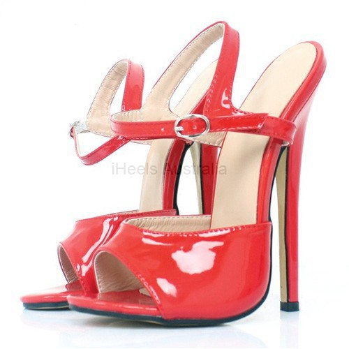 Pole Dancing Fetish 7 inch 18cm Heel Sandals