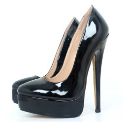 "Fetish-583 Fetish 7.2"" Heel Platform Pumps"