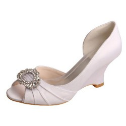 ELLEN-371 D'Orsay Art Deco Diamante Wedges