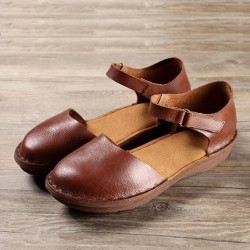 Colorado-WS03 Mary Jane Sandal Flats
