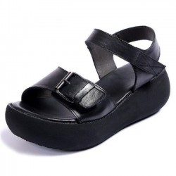 Colorado-DK05 Buckle Platform Sandals